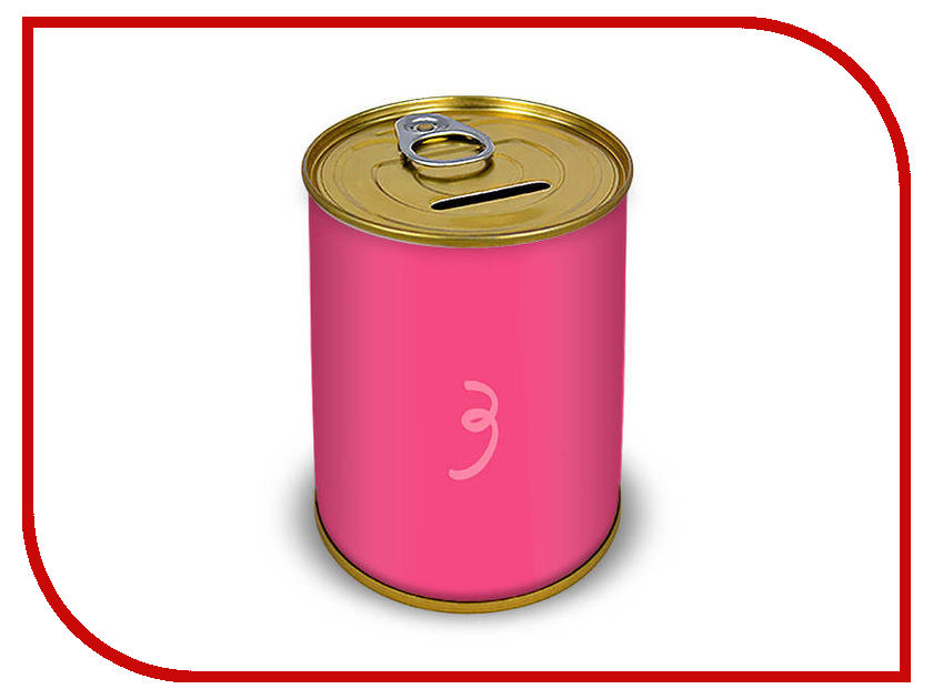 Копилка для денег Canned Money Свинка 410039 копилка для денег canned money коплю на мечту 415638