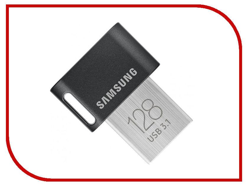 USB Flash Drive 128Gb - Samsung FIT MUF-128AB/APC ssk sfd223 usb 3 0 flash drive grey 128gb