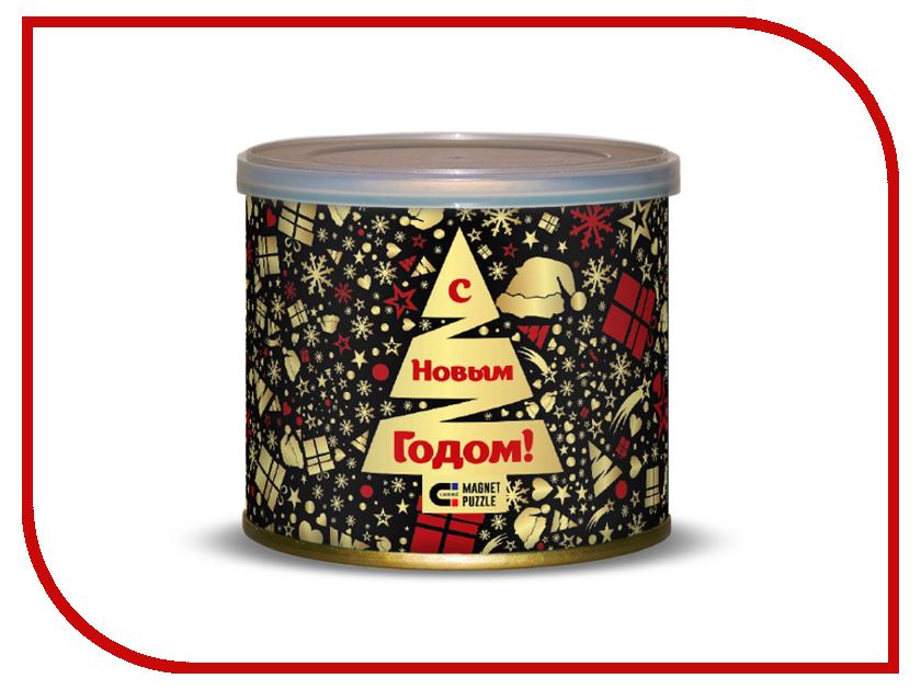 Пазл Canned Magnet Puzzle Новогодняя ночь 416680 цена