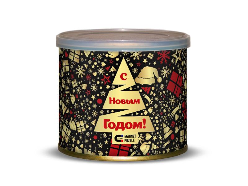 Пазл Canned Magnet Puzzle Новогодняя ночь 416680 фото