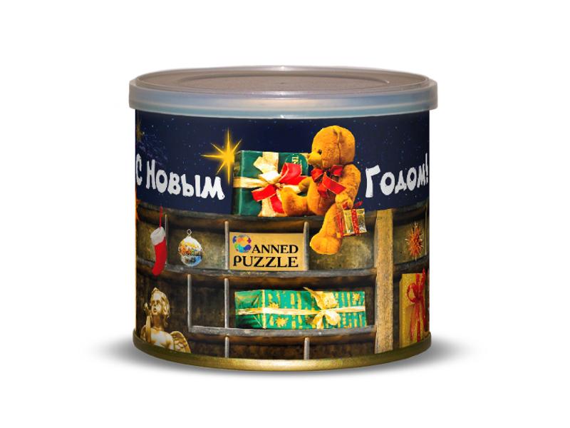 Пазл Canned Puzzle Новогодняя сказка 416659