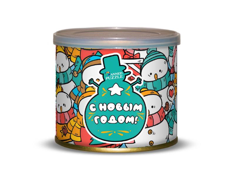Пазл Canned Puzzle Снеговики 416642 canned heat canned heat the very best of canned heat