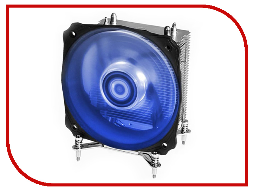 Кулер ID-Cooling SE-912i-B Blue (Intel 115X) prehistorical powers 5 puls cpu blue red led cooling fan copper and aluminum five heat pipe cooling fast