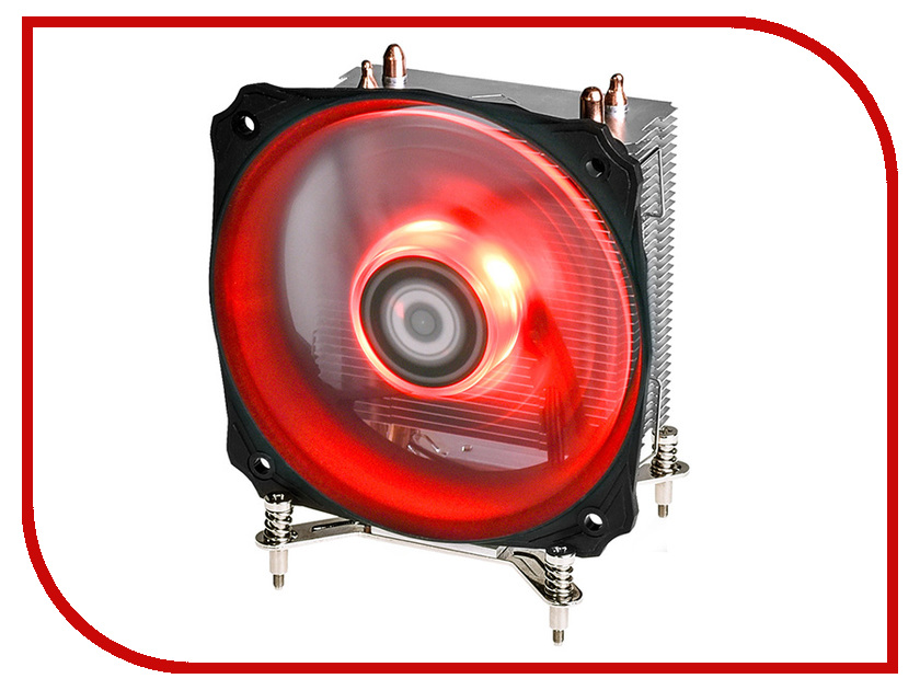 Кулер ID-Cooling SE-912i-R Red (Intel 115X) prehistorical powers 5 puls cpu blue red led cooling fan copper and aluminum five heat pipe cooling fast