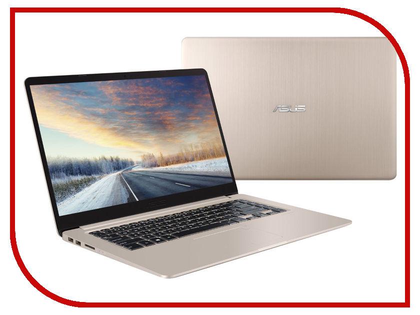 Ноутбук ASUS VivoBook S510UN-BQ448 Gold Metal 90NB0GS1-M08130 (Intel Core i3-7100U 2.4 GHz/4096Mb/1000Gb/nVidia GeForce MX150 2048Mb/Wi-Fi/Bluetooth/Cam/15.6/1920x1080/Endless OS) ноутбук asus vivobook x542uf dm235 dark grey 90nb0ij2 m07930 intel core i3 8130u 2 2 ghz 8192mb 1000gb nvidia geforce mx130 2048mb wi fi bluetooth cam 15 6 1920x1080 endless os
