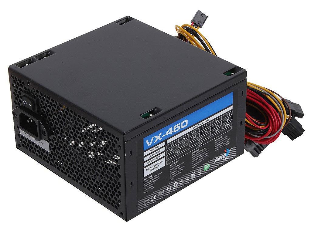 Блок питания AeroCool VX-450 Plus 450W