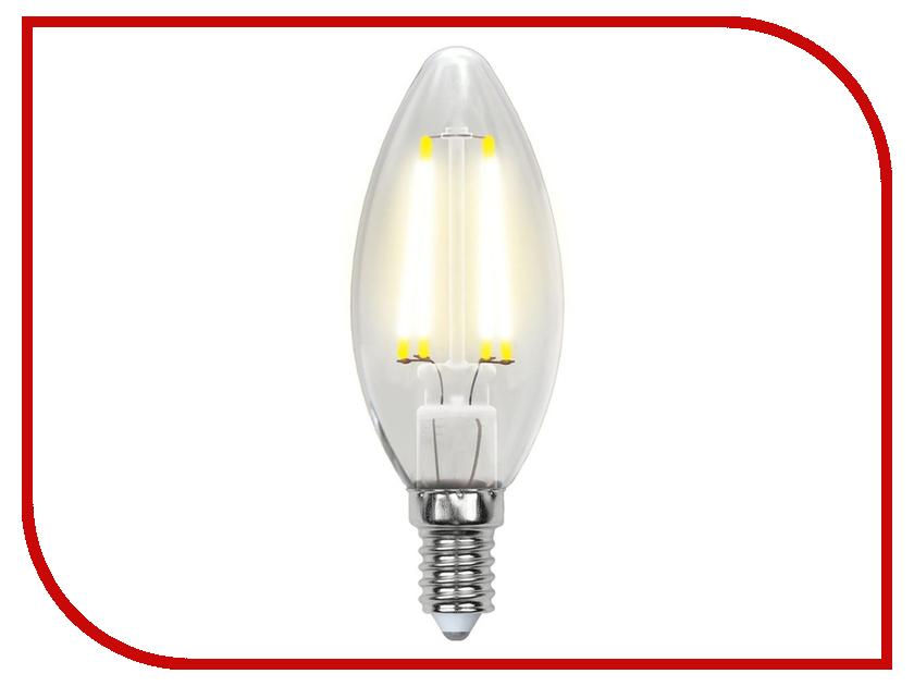 Лампочка Uniel LED-C35-6W/NW/E14/CL PLS02WH лампочка ergolux led c35 9w e14 13169