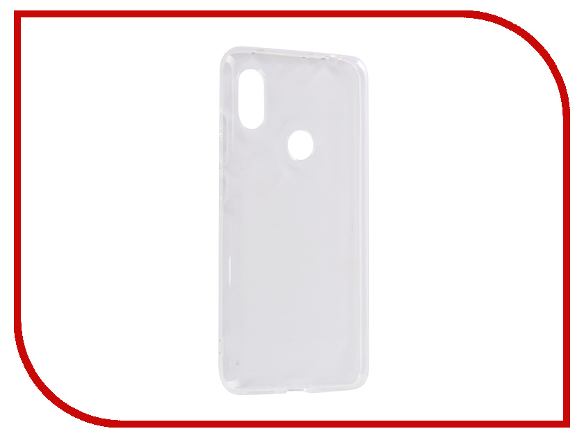 Аксессуар Чехол для Xiaomi Redmi Note 6 DF Silicone Super Slim xiCase-37 live and let die