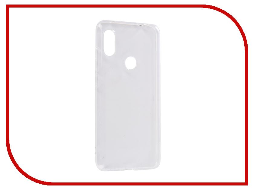 Аксессуар Чехол для Xiaomi Redmi Note 6 DF Silicone Super Slim xiCase-37 все цены