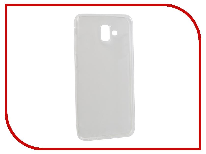 Аксессуар Чехол для Samsung Galaxy J6 Plus 2018 / J6 Prime DF Silicone Super Slim sCase-66 утюг bosch tda 1024110 sensixx x da 10 secure
