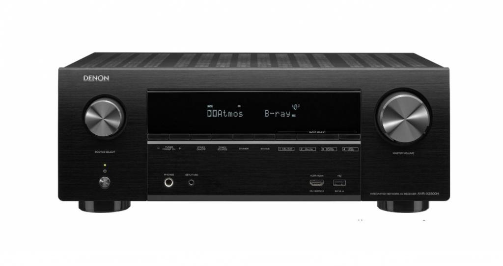 цена на Ресивер Denon AVR-X2500H Black AVRX2500HBKE2