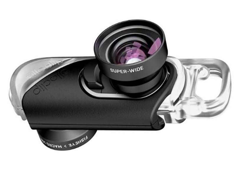 Объектив для APPLE iPhone 8/7 / Plus Olloclip Fisheye + Super Wide Macro 15 X Lenses Black OC-0000284-EA