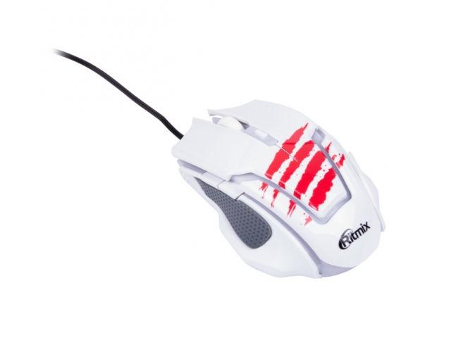 Мышь Ritmix ROM-350 White ritmix rom 202 blue мышь