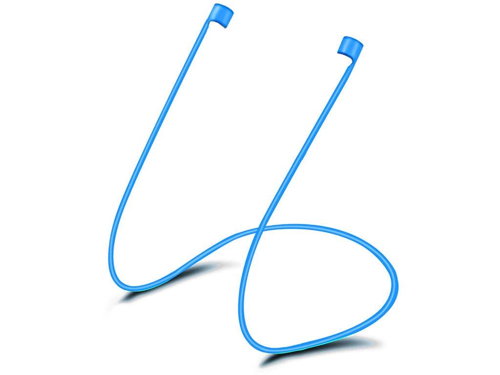 Аксессуар Шнурки GS для APPLE Airpods Blue SWA4 аксессуар силиконовые насадки gs для apple airpods transparent airs4