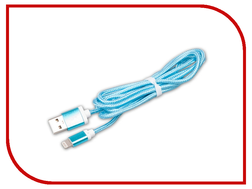 Аксессуар Ritmix RCC-321 USB 2.0 - Lightning Blue 15118985