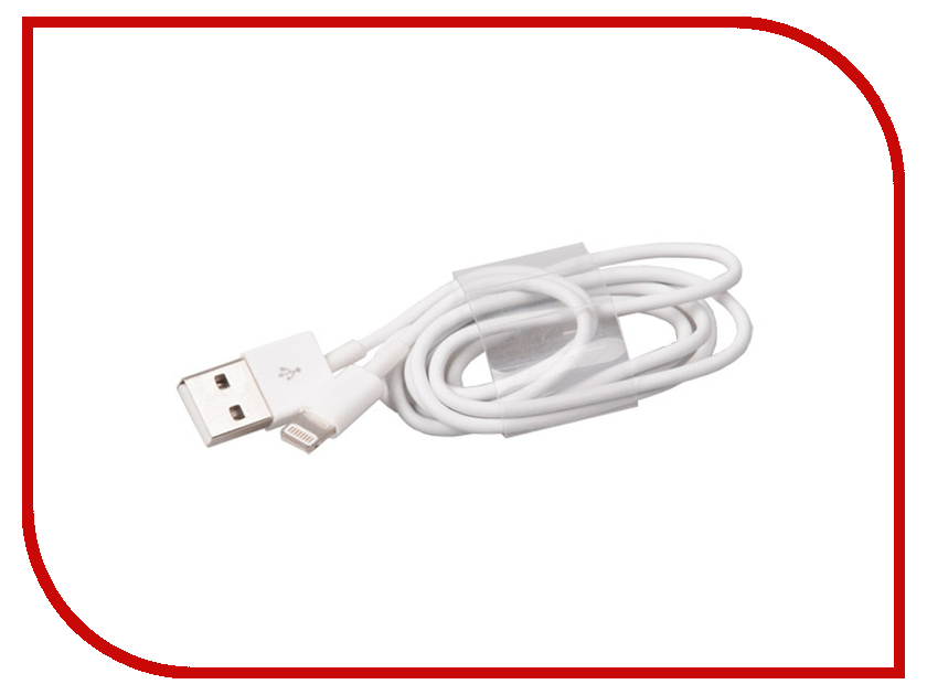 Аксессуар Ritmix RCC-120 USB 2.0 - Lightning White 15118999 цена