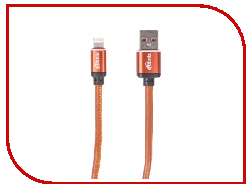 Аксессуар Ritmix RCC-425 USB 2.0 - Lightning Leather 15119660