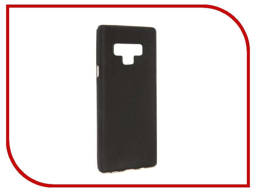 Аксессуар Чехол для Samsung Galaxy Note 9 N960F Svekla Silicone Black SV-SGN960F-MBL аксессуар чехол для samsung galaxy s9 sd845 svekla black tr svsamsd845 bl