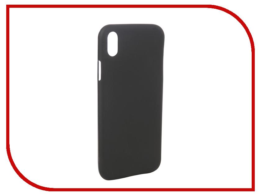 Аксессуар Чехол для APPLE iPhone XR Svekla Silicone Black SV-APXR-MBL аксессуар чехол для sony xperia l1 g3311 g3312 svekla silicone black sv sog3311 mbl