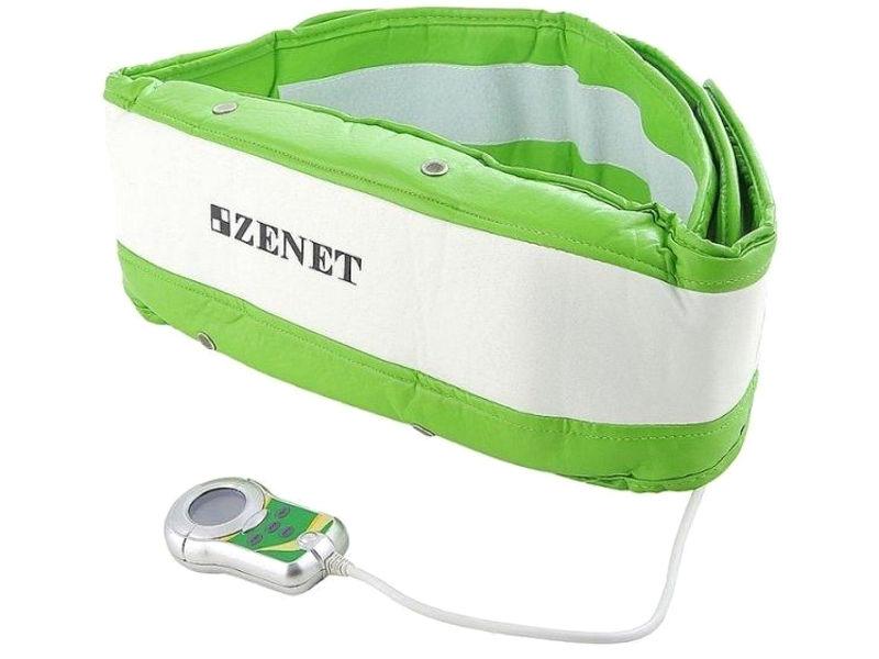Массажер Zenet ZET-750 White-Green - пояс