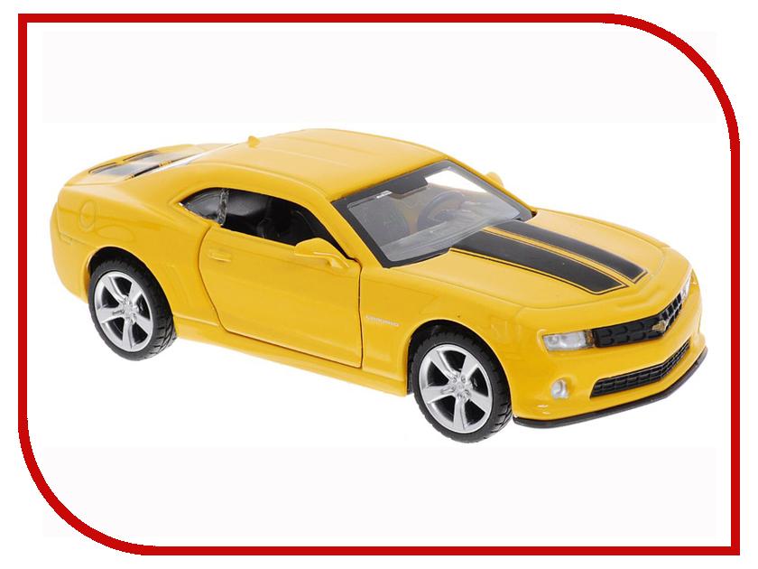 Игрушка Технопарк Chevrolet Camaro 1:43 Yellow 67326 машинки технопарк машина технопарк металлическая инерционная chevrolet camaro