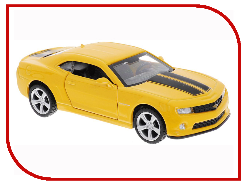Игрушка Технопарк Chevrolet Camaro 1:43 Yellow 67326 liislee car black box wifi dvr dash camera driving video recorder for chevrolet camaro 2016 2017
