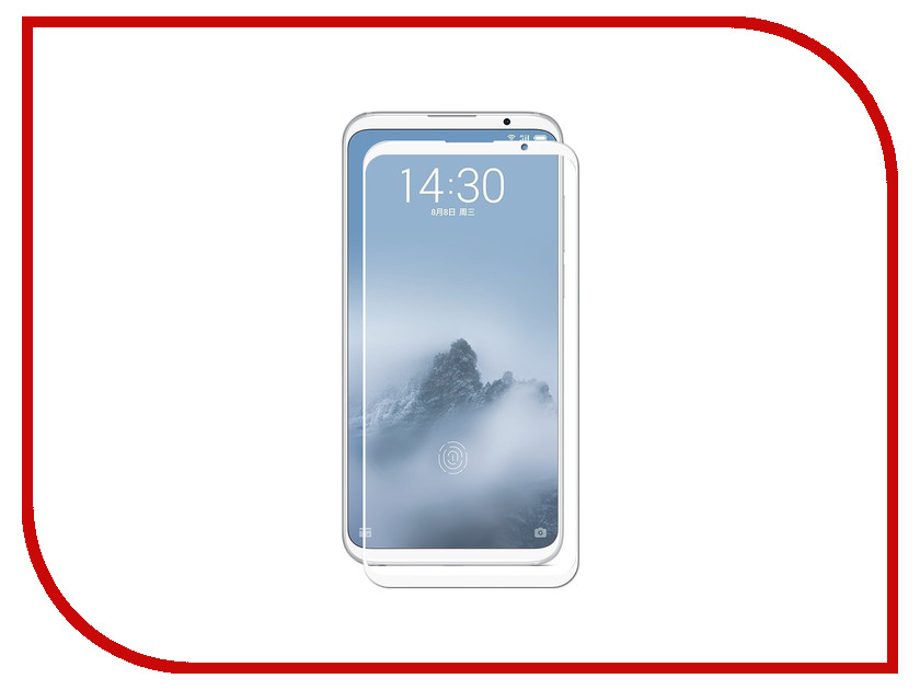 Аксессуар Защитное стекло для Meizu 16 Plus Gecko 2D Full Screen White ZS26-GMEIM16Plus-2D-WH for lenovo zuk z2 lcd screen display with touch screen digitizer panel glass assembly black white replacement parts free shipping