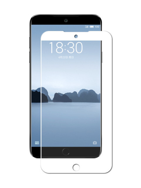 Защитное стекло для Meizu 15 Plus Gecko 2D Full Screen White ZS26-GMEIM15Plus-2D-WH