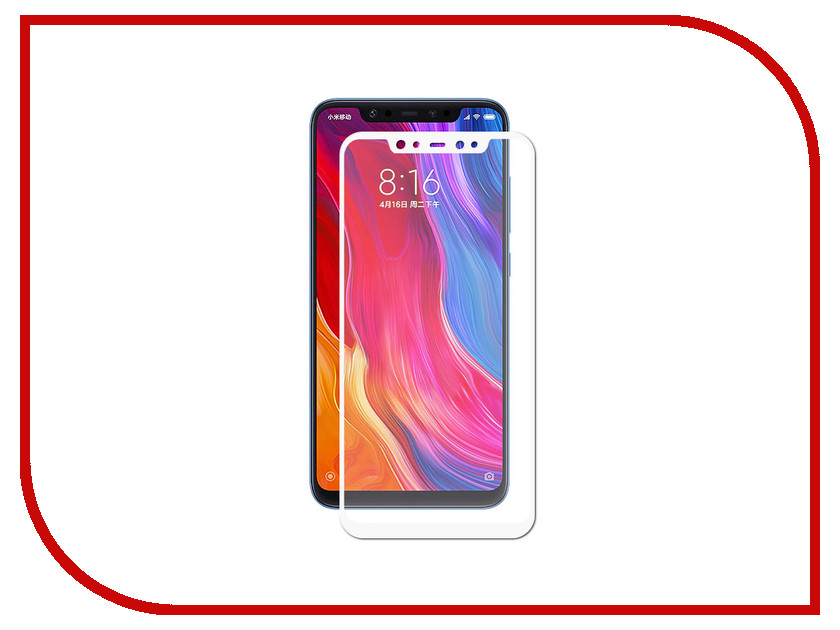Аксессуар Защитное стекло для Xiaomi Mi 8 Gecko 2D Full Screen White ZS26-GXMi8-2D-WH крем для рук le cafe de beaute le cafe de beaute la071lwlzg29
