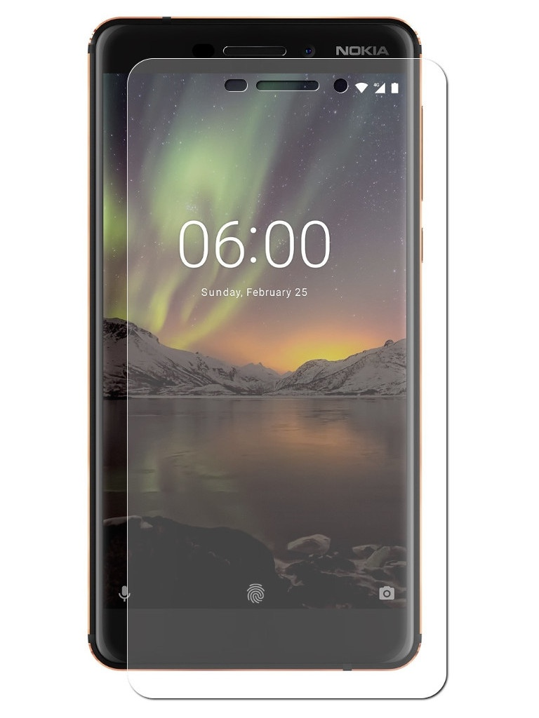 Аксессуар Защитное стекло Gecko для Nokia 6.1 ZS26-GNOK6.1 аксессуар защитное стекло samsung galaxy a3 2017 a320f gecko 0 26mm zs26 gsga3 2017