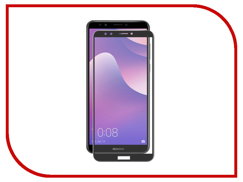 Аксессуар Защитное стекло для Huawei Nova 2 Lite Gecko 2D Full Screen Black ZS26-GHHN2Lite-2D-Blak