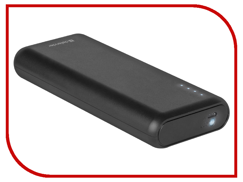 все цены на Аккумулятор Defender Lavita 10000B 10000mAh Black 83617 онлайн