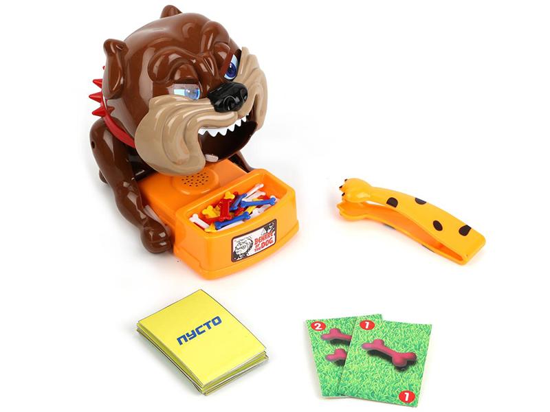 купить Настольная игра Играем вместе Осторожно, Злая Собака B1492512-R по цене 791 рублей