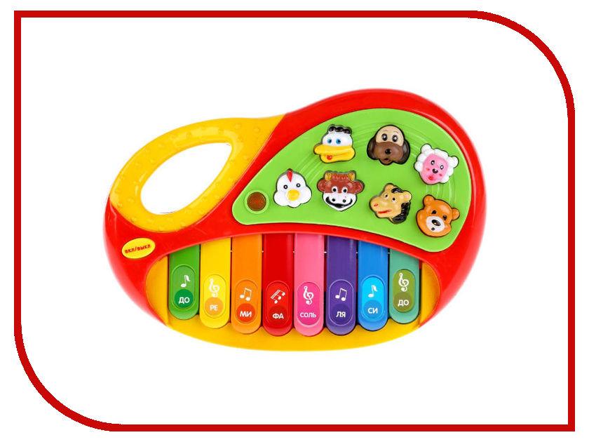 Детский музыкальный инструмент Умка Обучающее пианино Стихи М.Дружининой B1338657-R1 детский музыкальный инструмент играем вместе труба фиксики b782628 r1