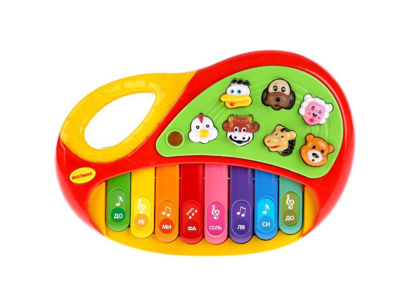 Детский музыкальный инструмент Умка Обучающее пианино Стихи М.Дружининой B1338657-R1