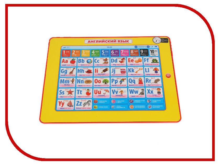 Планшет Умка Сенсорный планшет Английский Язык 45 стихов и песен HX82015-R35 планшет