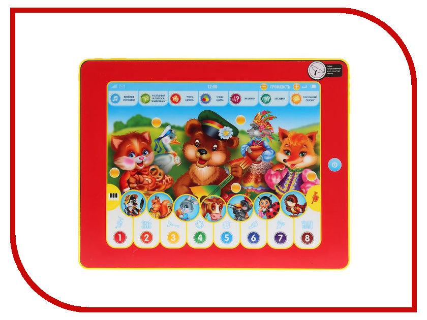 Планшет Умка Сенсорный планшет Веселые Потешки 11 загадок HX82015-R34 планшет