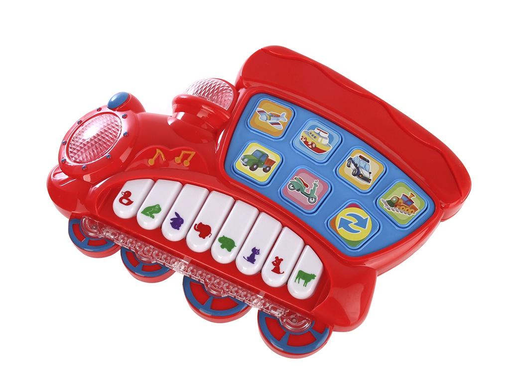 Детский музыкальный инструмент Умка Пианино-Паровозик Стихи М.Дружининой B1576571-R