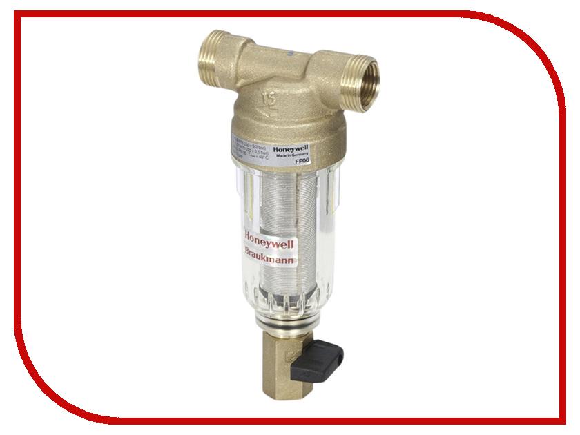 Фильтр для воды Honeywell FF 06 3/4 AA (без ключа) фильтр для воды honeywell f76s 3 4 aa