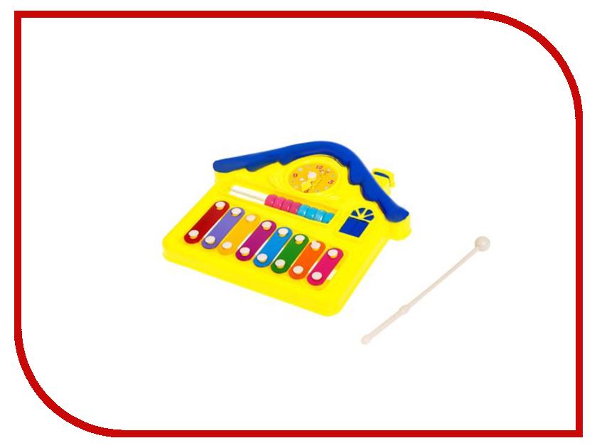 Детский музыкальный инструмент Играем вместе Металлофон Ми-Ми-Мишки B1031846-R кпб детский облачные мишки