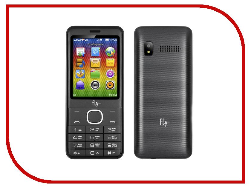 Сотовый телефон Fly FF2801 Grey цена и фото