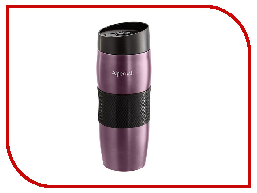 Термокружка Alpenkok 400ml AK-04034A Purple