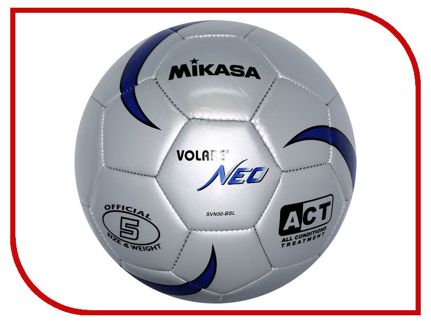 Мяч Mikasa SVN50-BSL 28268434 цена