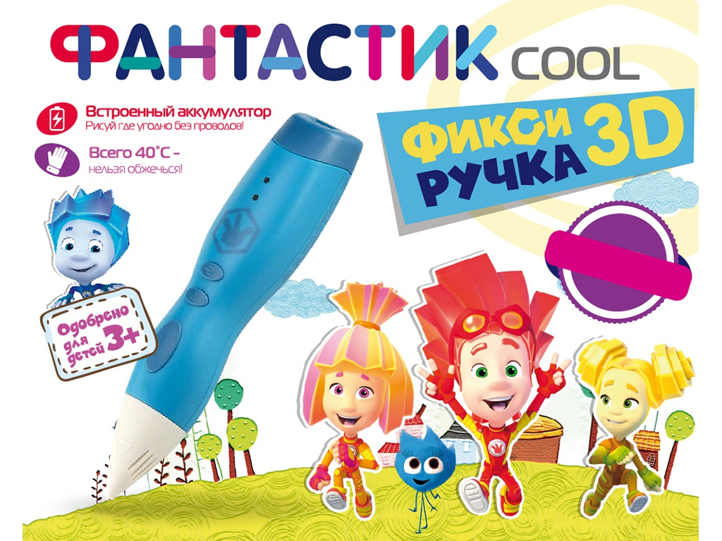 3D ручка Funtastique Cool FPN01B Light Blue — Cool