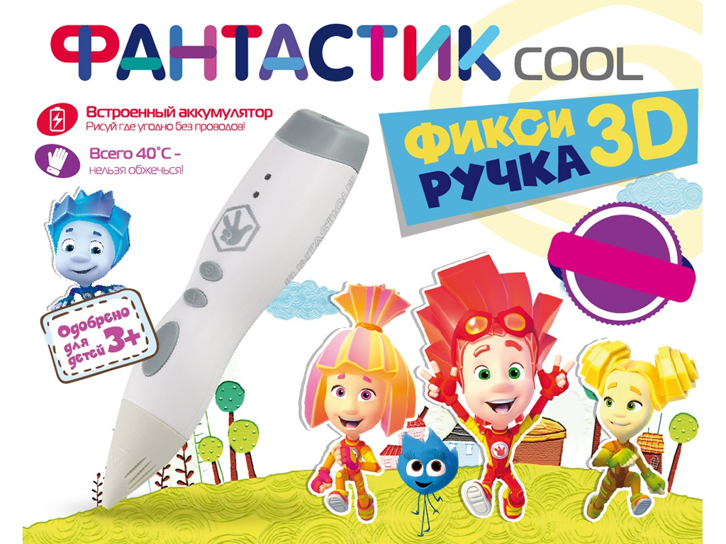 3D ручка Funtastique Cool FPN01W White