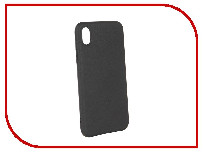 Аксессуар Чехол для APPLE iPhone XR X-Level Guardian Black 2828-189 цена и фото