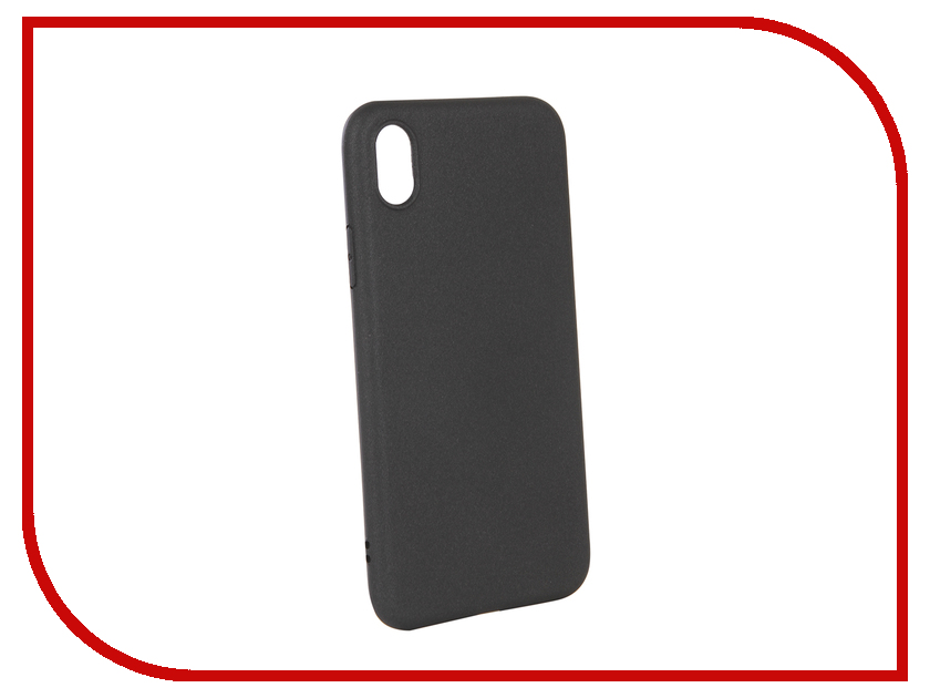Аксессуар Чехол для APPLE iPhone XR X-Level Guardian Black 2828-189 цена 2017