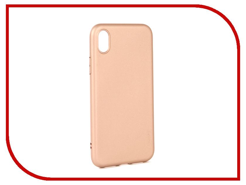 Аксессуар Чехол X-Level Guardian для APPLE iPhone XR Gold 2828-186 x line xr 118