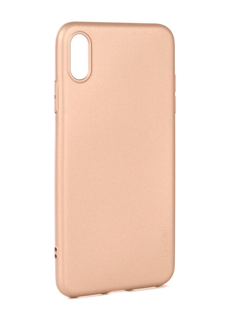 цена на Аксессуар Чехол Guardian для APPLE iPhone XS Max X-Level Gold 2828-191