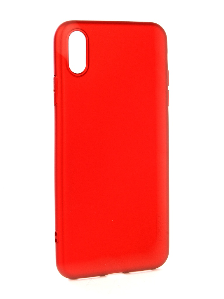 Аксессуар Чехол Guardian для APPLE iPhone XS Max X-Level Red 2828-192